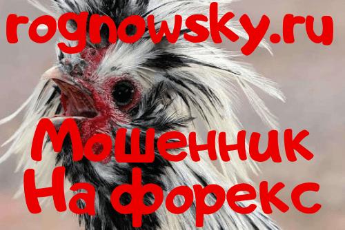rognowsky.ru Вор и Мошенник мой отзыв! Этот форекс лохотрон заебал!